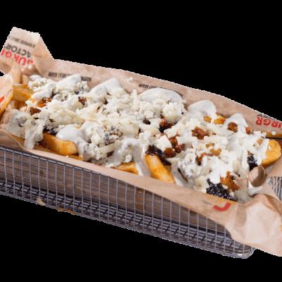 The gorgonzola beast loaded fries