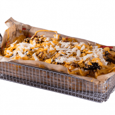 The loaded chilli cheese fries