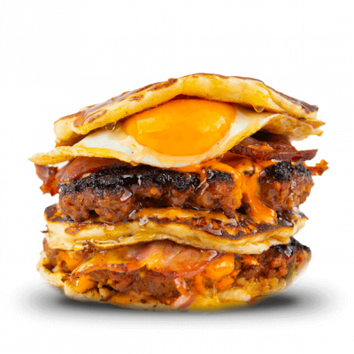 The pancake beast burgr